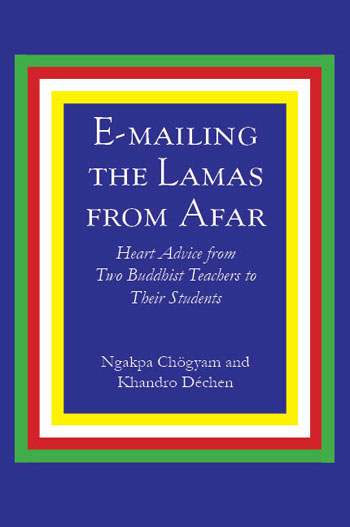 Emailing the Lamas from Afar